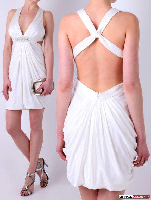 Как сшить девочке платье с открытой спиной 89