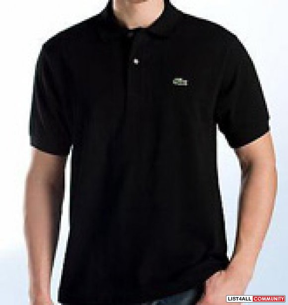 Wholesale 3 pcs men 39 s lacoste polo shirts vtoop list4all for Discount lacoste mens polo shirts