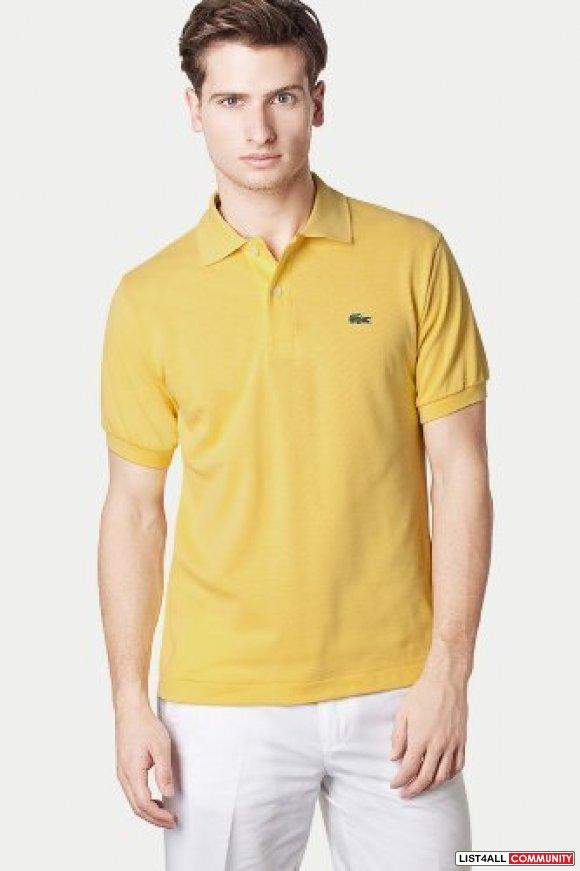 9e51f2c6 Sell Lacoste Men's Short Sleeve khaki Polo Shirt :: vtoop :: List4All