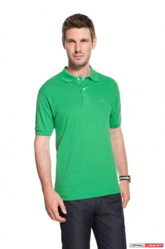 Discount lacoste men polo shirt light green color f for Discount lacoste mens polo shirts