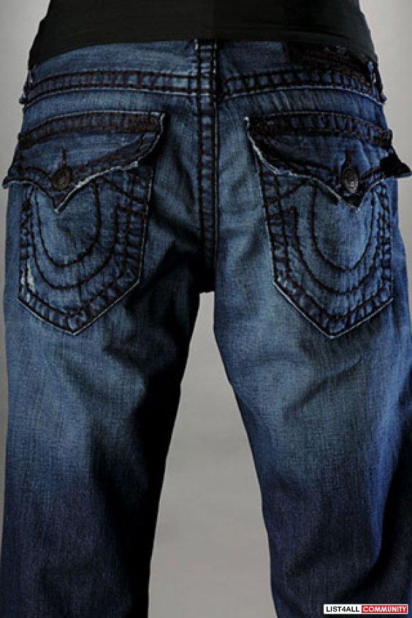 True Religion Billy Jeans Mens Men's True Religion Billy