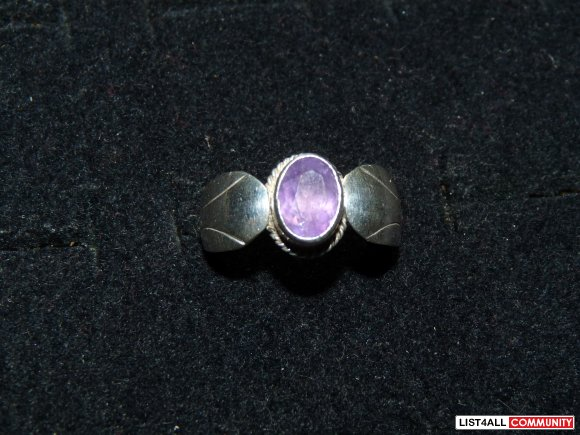 Silver ring, Size 5