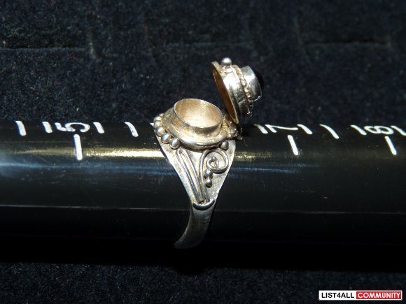 Silver ring, Size 6