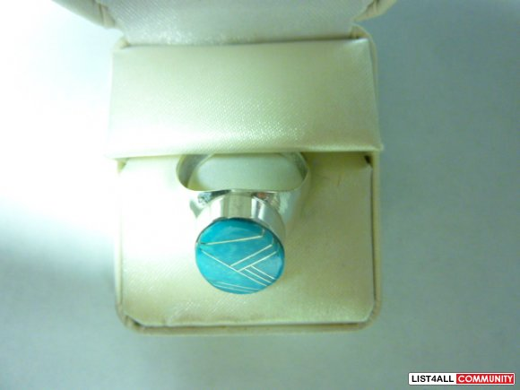 Silver ring, size 11