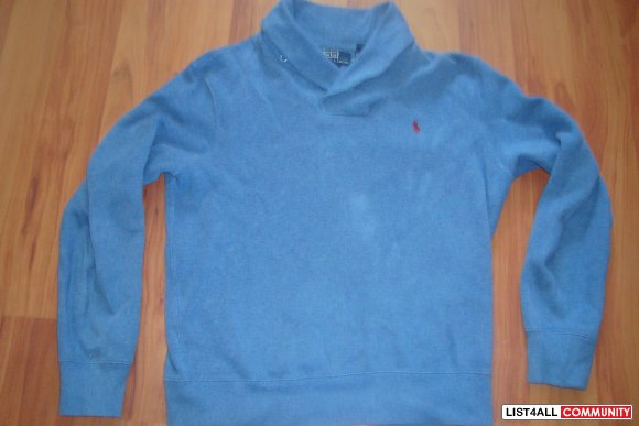 Polo Ralph Lauren Shawl Collar Sweater (Size M)