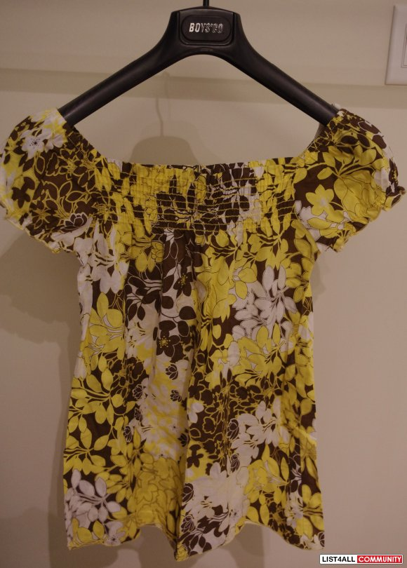 Urban Behaviour Floral Tunic Size Small S