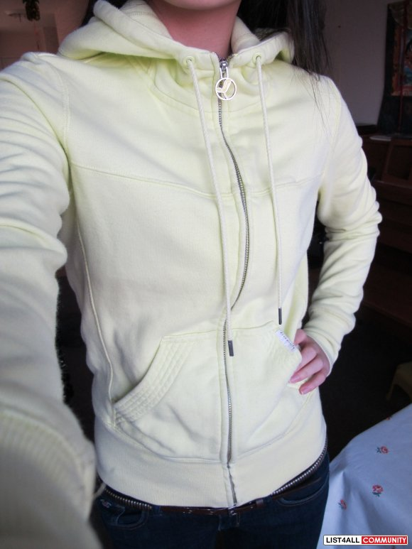 COMMUNITY Hoodie (Neon Yellow) REDUCED TO $45 !