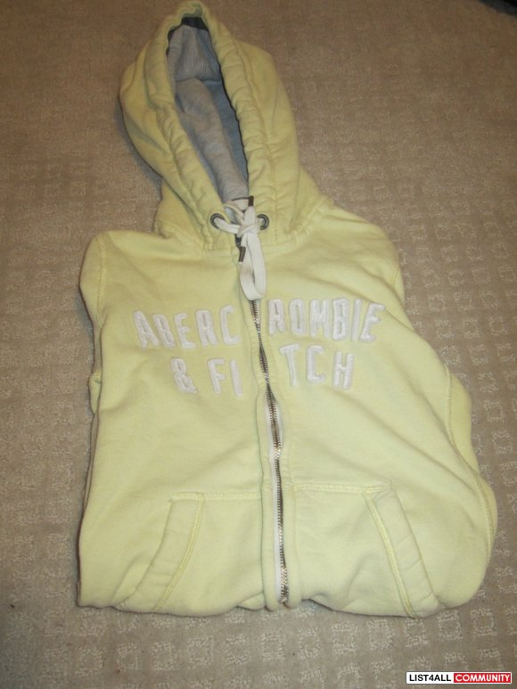 Abercrombie Yellow Sweater