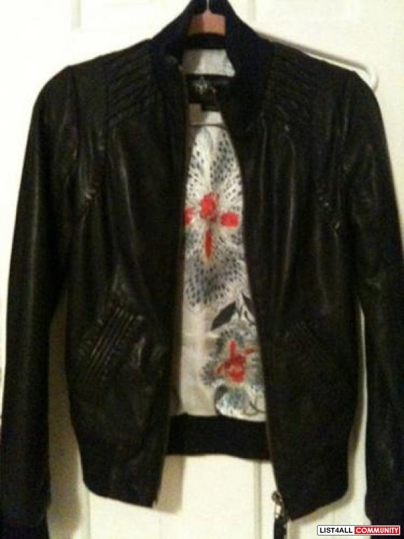 MACKAGE Jerry Leather jacket, XS 10/10 condition! 350 OBO (SOLD)