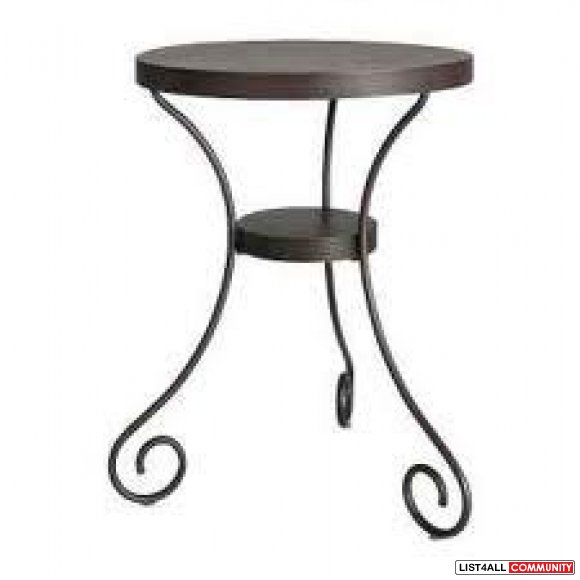 Black ikea side table goodies list4all - Petite table de jardin ikea ...