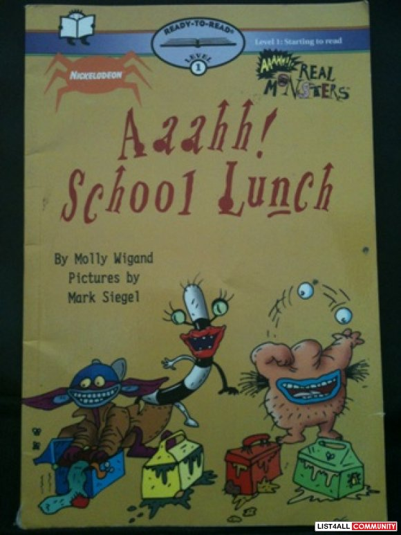 Aaahh! School Lunch Level 1