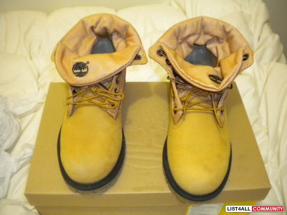 Women's TImberland Boots size 6