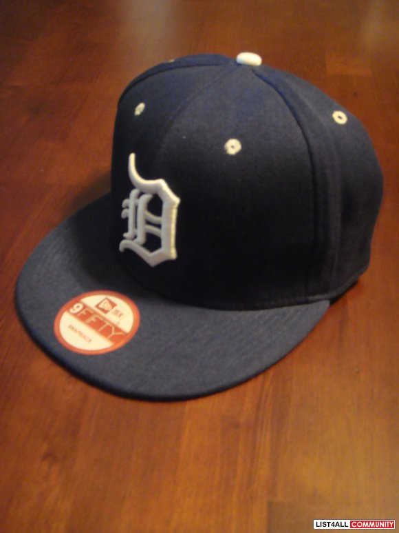 Detriot Tigers Snapback Hat