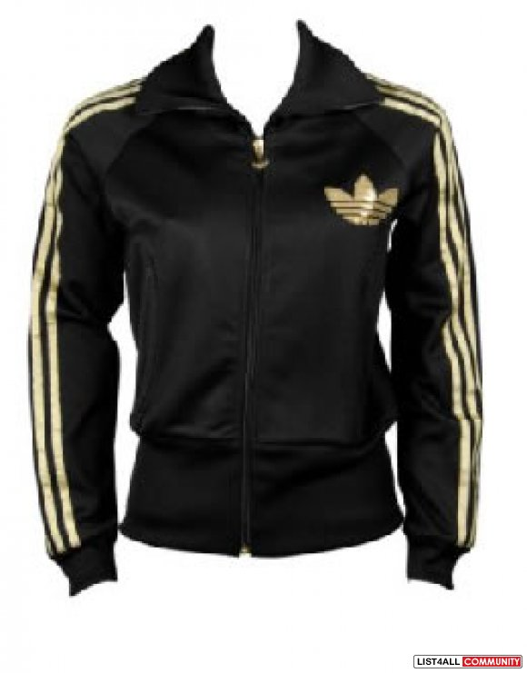 Adidas gold sequin jacket size XS BN