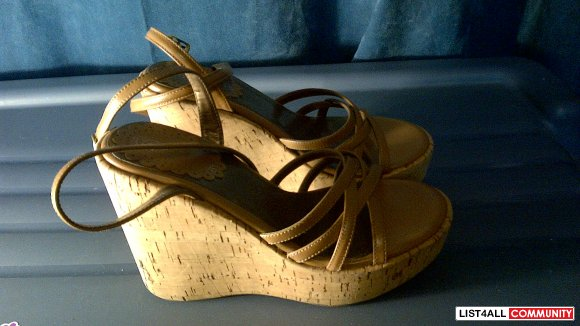 Stoneridge Wedge Sandals