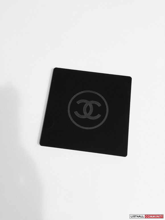 B/N Chanel gift cup coaster