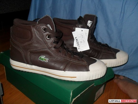 LACOSTE LEATHER KICKS