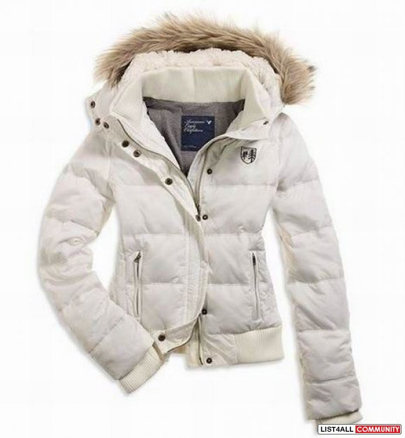 american eagle white winter jacket size small :: rsa :: List4All