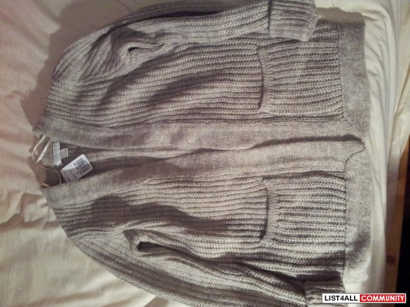 Forever 21 Oatmeal Knit Cardigan *BNWT