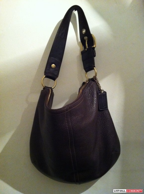 Authentic Coach Hobo Purse