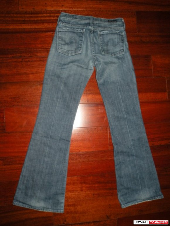 Citizens of Humanity Ingrid size 24