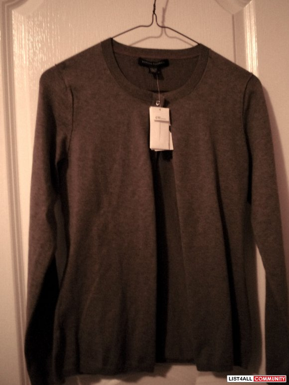 bnwt banana republic brown cardigan