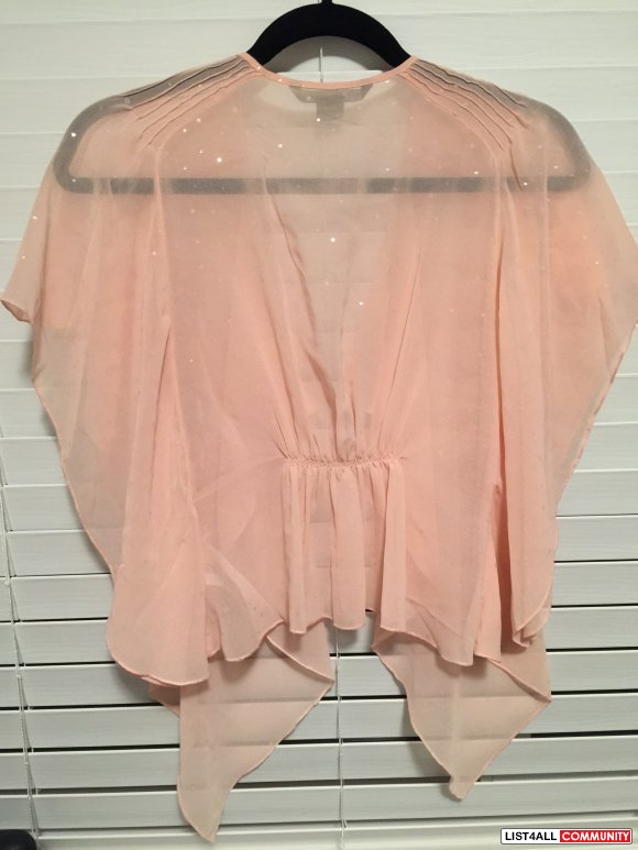 Armani Exchange Light Pink Cover Up / Shirt - XS/ S