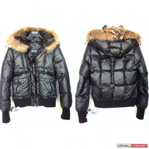 Mackage Joey Fur Bomber Jacket
