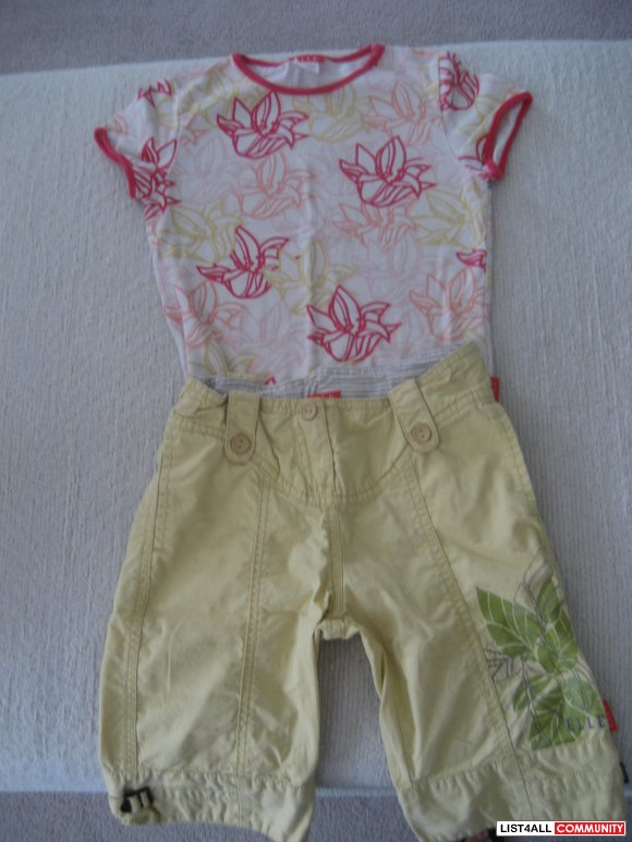 Elle Long Short Set with Top - Size 4-5, NEVER WORN