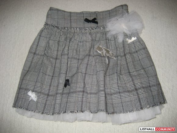 Lili Gaufrette Beautiful Layered Skirt - size 6