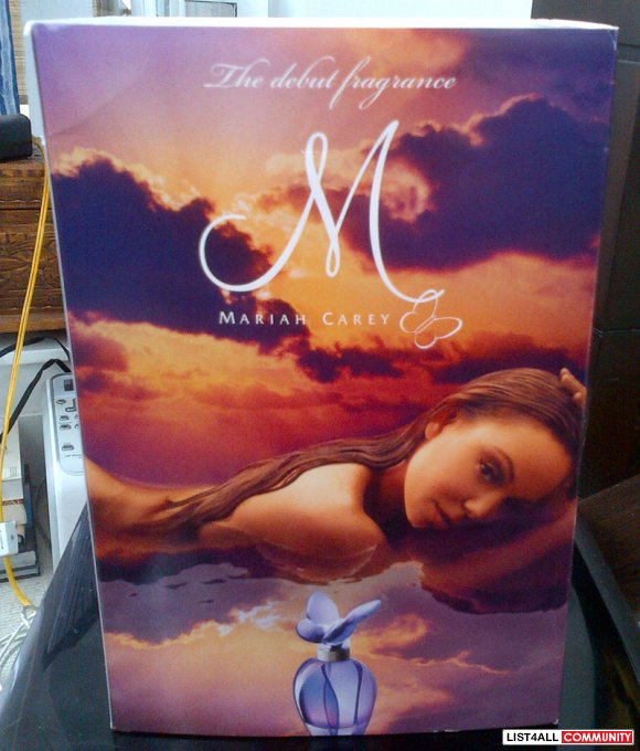 "* * Brand New ""M"" by Mariah Carey Perfume! * *"