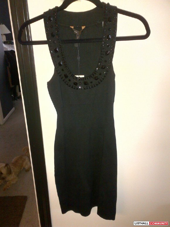 * * Brand New BCBG Dress w/ Stones! * *