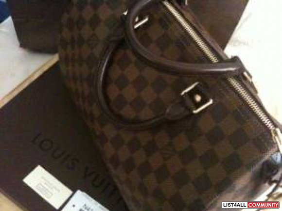SOLD---- AUTHENTIC Louis Vuitton Speedy 30