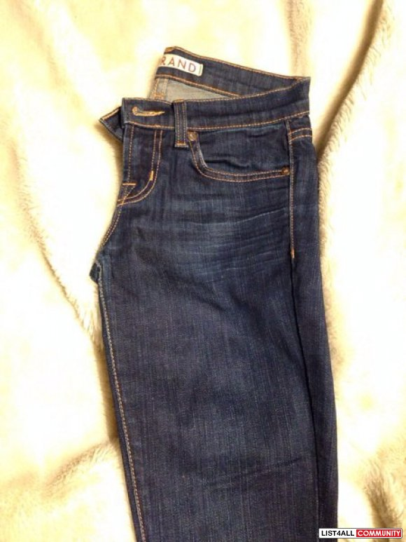 SOLD- Authentic J brand jeans size 23 from aritzia