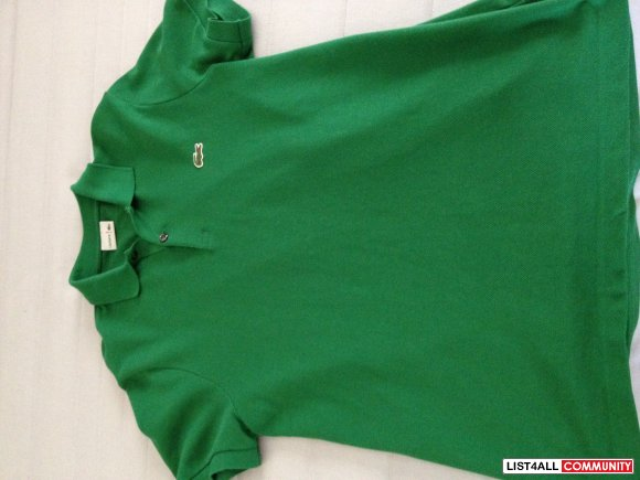 Lacoste POLO Size 3 ( Small )