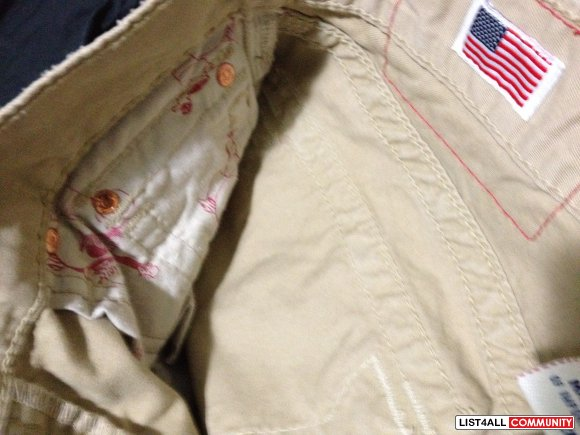 True Religion KHAKI's