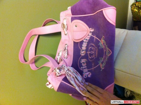 Juicy couture make up bag and purse both for 50