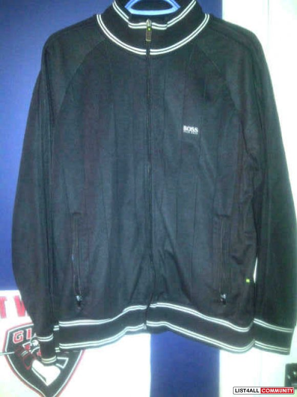Hugo Boss Green black track jacket authentic trade for deuce phoenix o