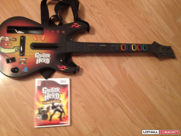 Guitar Hero World Tour Nintendo Wii