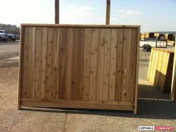 Cedar Fence Panels Sale Targetcedar99 List4all