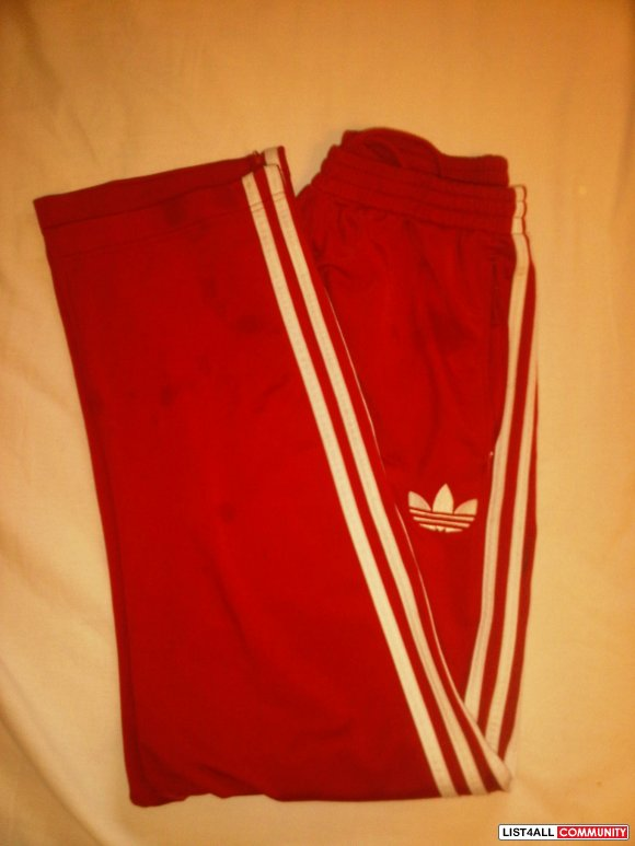 Adidas (Red Firebird) Track Pants