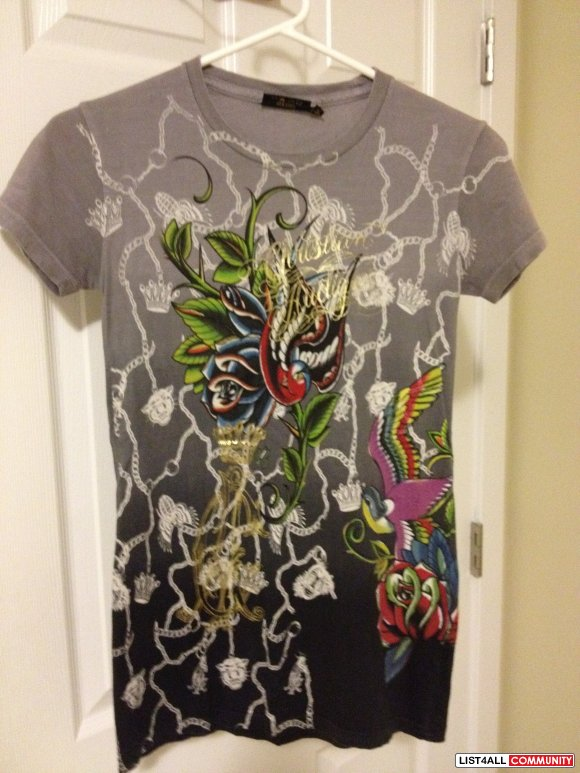 AUTHENTIC Christian Audigier shirt - XS