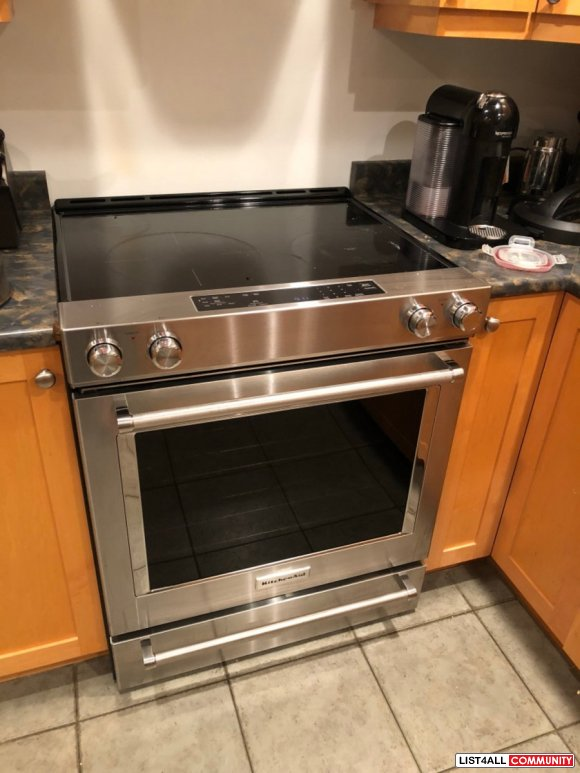 stainless steel oven $ 600