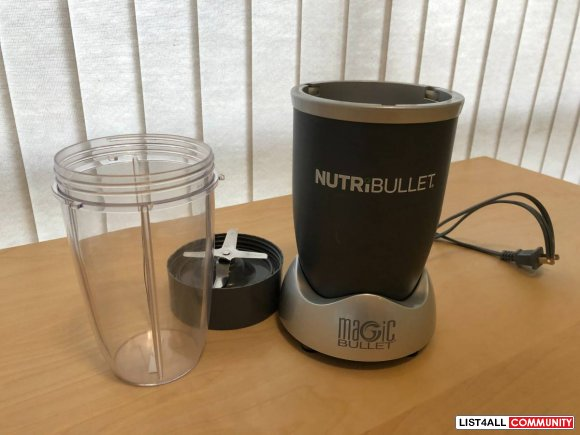 NutriBullet (Magic Bullet) - $60