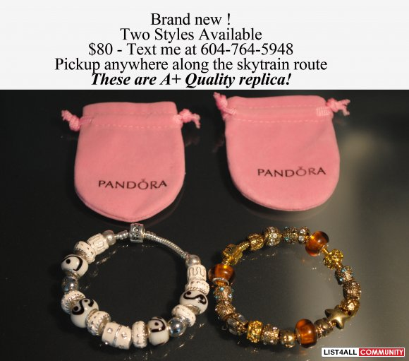Pandora bracelet - two styles available