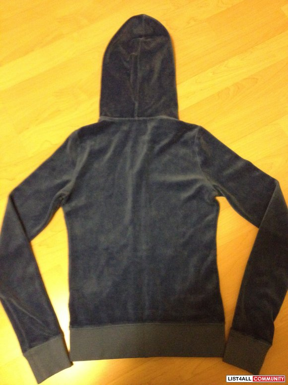 Juicy Couture VELOUR HOODIE (SALE $60)