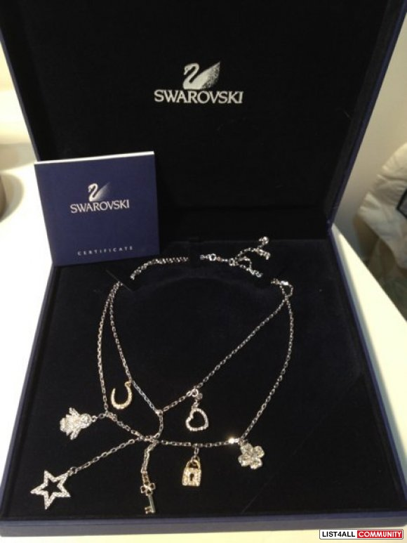 Swarovski necklace(brand new)