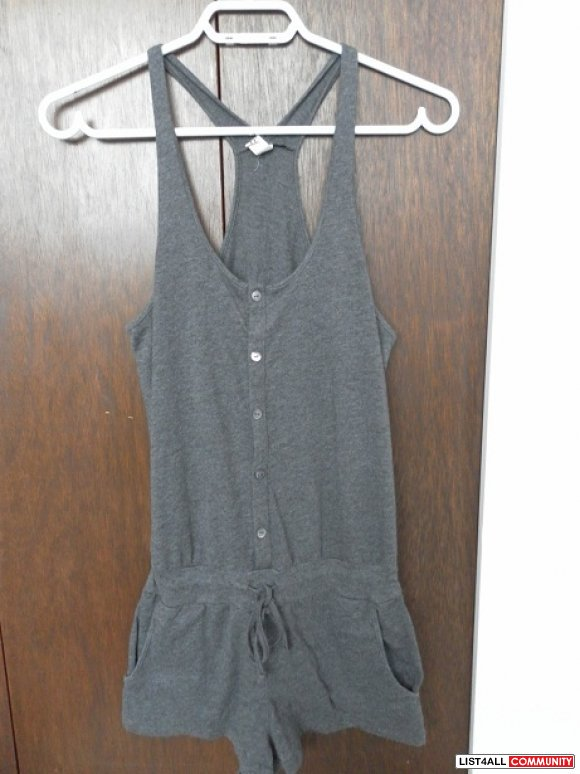 WANTED: TNA/Aritzia Romper Grey XXS