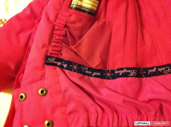 Bangbang Pink Ski/Winter Jacket XXS