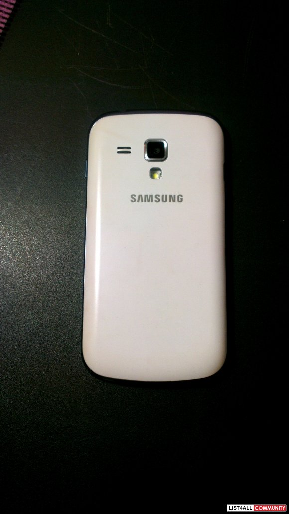 White Samsung Ace II x - never used